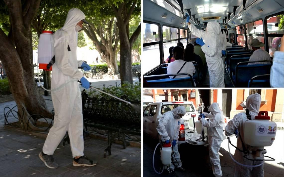 """Inician trabajos de """"sanitización"""" en SMA - El Sol del Bajío"""